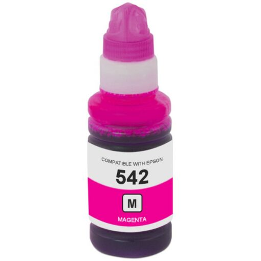 Compatible Epson 542 (T542320) Magenta Ink Bottle (70 mL)