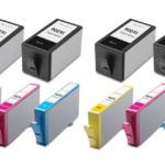 Compatible Replacement 10-Set High Yield Ink Cartridges for HP 902XL: 4 Black & 2 each of Cyan / Magenta / Yellow
