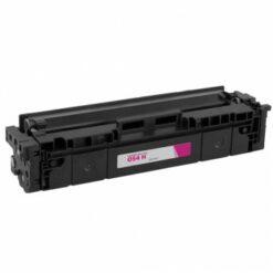 Compatible canon 054h high yield magenta toner 3026c001, (2,300 page yield)
