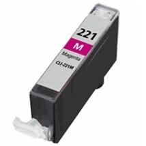 Compatible canon cli-221 magenta ink cartridge w/ chip