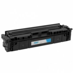 [no chip] compatible hp w2111x (hp 206x) high yield cyan toner cartridge (2,450 page yield)