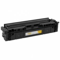 [no chip] compatible hp w2112x (hp 206x) high yield yellow toner cartridge (2,450 page yield)