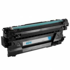 Compatible hp 657x (cf471x) high-yield cyan toner cartridge